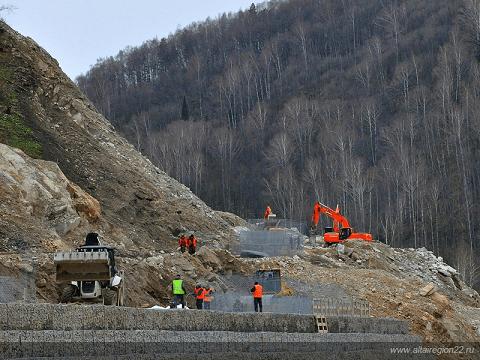 Строительство горных дорог