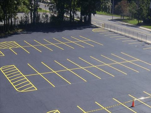 Строительство автомобильной стоянки